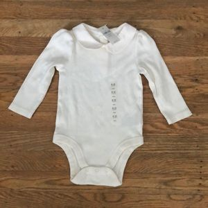 Baby gap collared onsie- new - 6-12 month